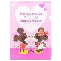ミッキー&ミニー[ファイル]A4シングルクリアファイル/2111349 ディズニー