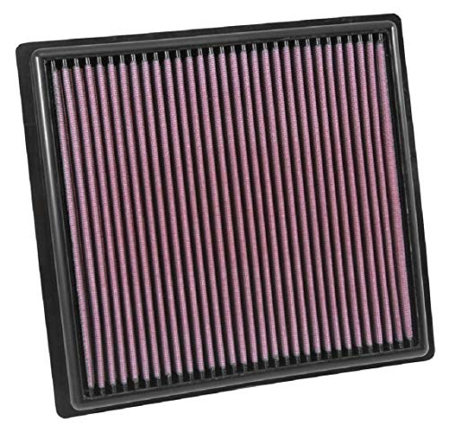 K&N Engine Air Filter: High Performance, Premium, Washable, Replacement Filter: Fits 2015-2019 Chevy/GMC Colorado and Canyon, 33-5030