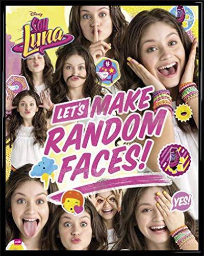 Soy Luna Póster Mini con Marco (Plástico) - Let's Make Random Faces (50 x...