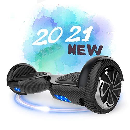 SOUTHERN-WOLF Hoverboard, Patinete Eléctrico Hoverboard, Hover 6.5 Pulgadas Board Leds, Potente batería de Litio, Bluetooth, Self Balancing, monopatín eléctrico Auto-Equilibrio