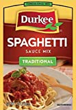 Durkee Spaghetti Sauce Mix, 1.25 Ounce --- 24 Per Count