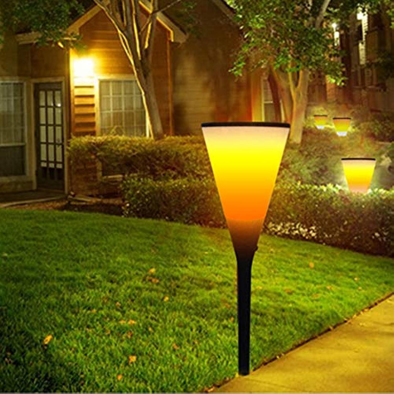 YY-9605-5 Weinschalenform Solar Power Torch Light, 96 LEDs SMD 2835 2800K umweltfreundliche LED-Lichtlampe mit 5,5 V   1,2 Watt Solar Panel Design Sinn Durable