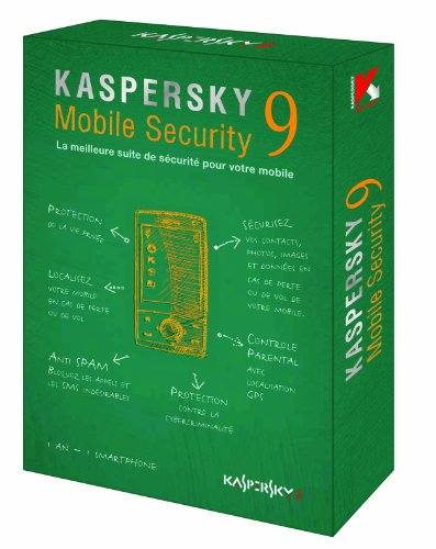 Kaspersky Mobile Security 9.0 (1 poste/1 an)