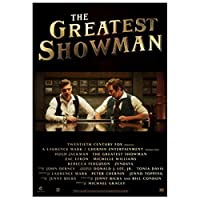 Ipea The Greatest Showman Musical 2017 Usa Movie Canvas Painting Posters Hd Print For Wall Art Living Room Home Decor -50X70Cm Unframed