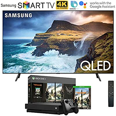 Best Price-to-Performance Ratio 4K HDR TV for Xbox One x and PS4 – Samsung Q70 QLED TV