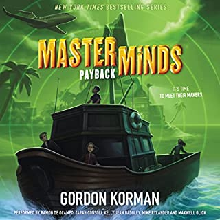 Masterminds: Payback audiobook cover art