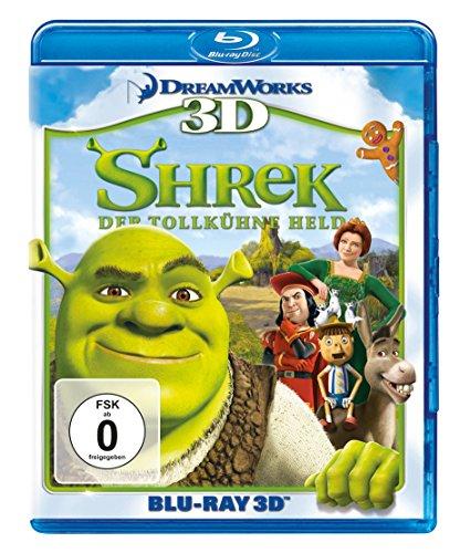 Shrek - Der tollkühne Held (+ Blu-ray 2D)