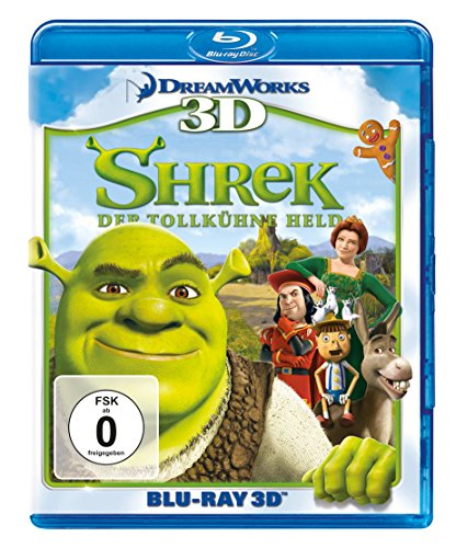 Shrek - Der tollkühne Held  (+ Blu-ray 2D)