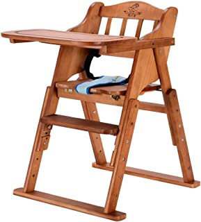 Baby Dining Chair Children s Table Chair Portable Folding Stool Multi-purpose Eating Seat Baby Solid Wood Dining Chair
