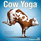 Cow Yoga 2021 Wall Calendar