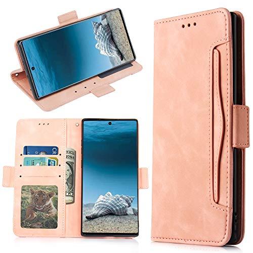 QiongniAN Cover per Samsung Galaxy Note 10+ 5G,Custodia per Samsung SM-N976V Galaxy Note 10+ 5G / SM-N976U SM-N976B SM-N976N SM-N9760 Custodia Case Cover Pink