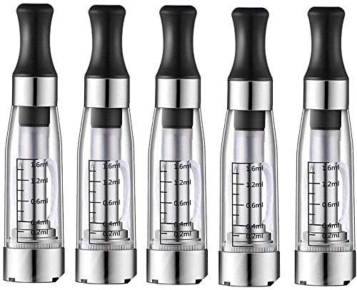 5 x CE4 Atomizer-Verdampfer für alle eGo Modelle Elektronische Zigarette - Klare/Clear