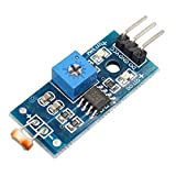 HALJIA Digital Light Intensity Sensor Module Photo Resistor Photoresistor Compatibile con Arduino UNO