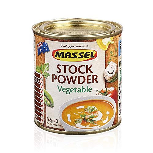 Massel, Bouillon Stock Powder - No MSG, Gluten-Free, Vegetable Flavour - 168...
