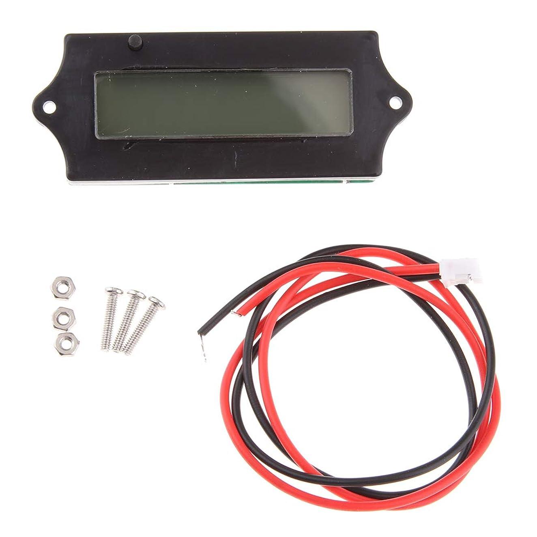 加害者オアシス発信KESOTO デジタル電圧計 バッテリーチェッカー 12V 24V 36V 48V 自動車用 LCD表示 全3色 - グリーン