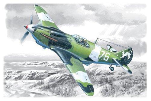 ICM 48091 - LaGG-3, la Segunda Guerra Mundial Soviética combatiente de la Serie 1-4