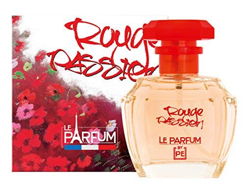 LE PARFUM DE FRANCE Rouge Passion Eau de Toilette Femme 100 ml