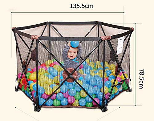 Amazing Deal LXYFMS Game Fence Portable Outdoor Folding Baby Fence Indoor Family Child Safety Activi...