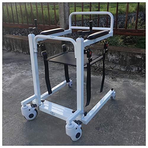 YXP Hochleistungs-Patientenlift mit manueller niedriger Basis Mit Teleskopfunktion, 500 lb. Tragkraft, Patienten-Transfer-Hebebühne für ältere Menschen mit Behinderungen