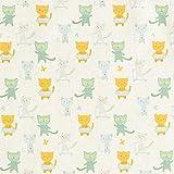 Fabulous Fabrics Dekostoff Cretonne Katzen Freizeit –