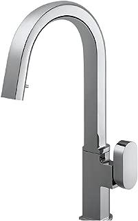 Houzer AZUPD-968-PC Azura Hidden Pull Down Kitchen Faucet, Polished Chrome
