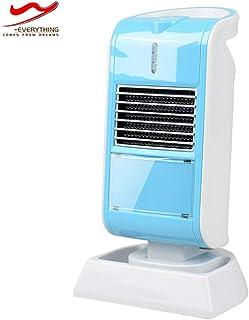 QAZXC Calefactor Eléctrico Calentador Rápido de Elementos de Calefacción de PTC Calentador de Escritorio Portátil de Bajo Consumo de Energía de 50 Vatios,Azul