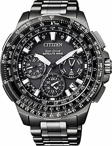 Citizen Promaster Sky–Satellite Wave–Reloj de Pulsera Cronógrafo Cuarzo Titan CC9025–51E