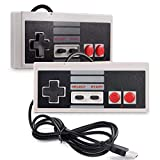 2 Pack USB Controller for NES Games, suily PC USB Controller Retro Gamepad Joystick Raspberry Pi Gamepad Controller for...