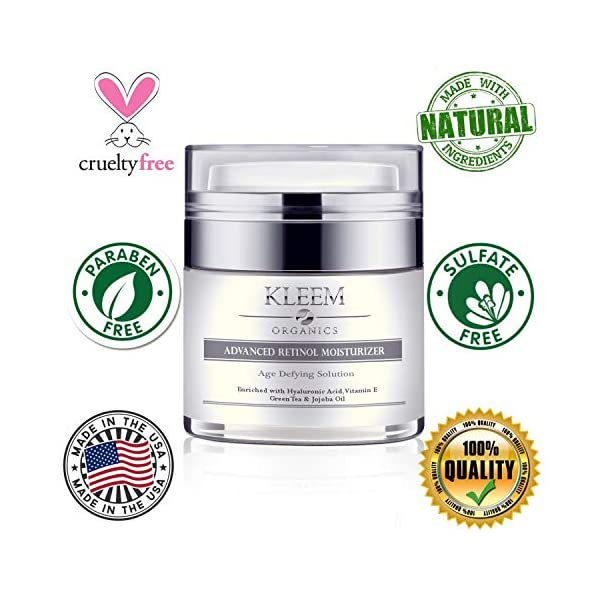 Anti aging products Pure Anti-Wrinkle Face & Neck Retinol Cream with Hyaluronic Acid – Premium