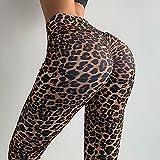 ShFhhwrl Mujer Leggins Leggings De Leopardo Push Up Pantalones De Yoga Gimnasio Mujeres Deporte Leggings Deportivos Mallas Elásticas Delgadas para Correr Ropa
