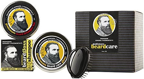 Professor Fuzzworthy BIG Healthy Beard Grooming Kit for Men Gift Pack 100 Natural Beard SHAMPOO product image
