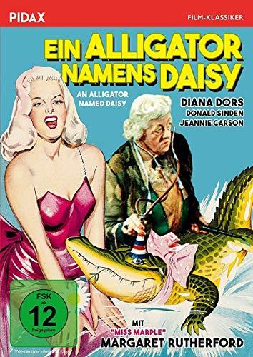 Ein Alligator namens Daisy (An Alligator Named Daisy) / Turbulente Komödie mit Diana Dors und Margaret Rutherford (bekannt als MISS MARPLE) (Pidax Film-Klassiker)