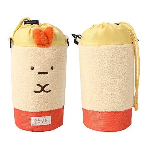 すみっコぐらし SumikkoGurashi - ボトルポーチ 水筒ケース ペットボトル ホルダー アウトドア活動ボトル用ポーチ ペットボトルケース カバー (Yello)