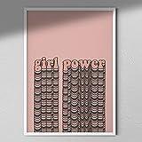 Girl Power - Cuadro de pared...