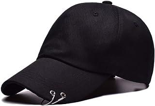 Flyself Unisex BTS Bangtan Boys Baseball Cap with Ring Adjustable Bulletproof K-pop Style Snapback Hat Casual Sports Sun H...