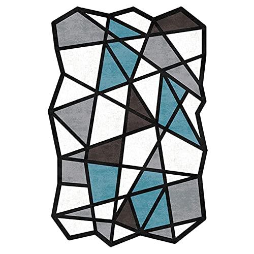 XJRS Bodenmatte Für Bürostuhl Stille Bodenschutzmatte Für Teppichboden Und Bodenwaschbare rutschfeste Stuhlmatten Leicht Zu Reinigen(Size:140×200cm,Color:B.)
