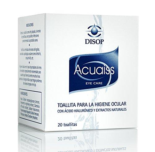 Acuaiss Toallitas para la Higiene Ocular con Acido Hialuronico y