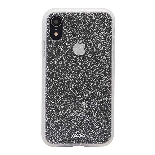 Sonix Silver Glitter Case for iPhone X/Xs [Drop Test Certified] Protective Clear Case for Apple iPhone X, iPhone Xs