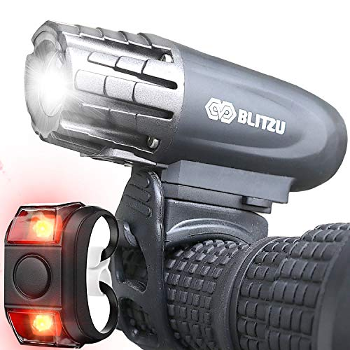 BLITZU Gator 320 USB Rechargeable Bike Light Set
