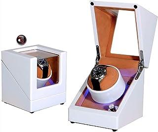 ZGNB Scatola Carica Orologi Automatica, Singolo Cassa dell'Orologio in Legno Watch Winder per Orologio Custodia per Orolog...