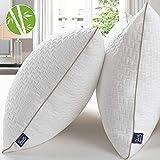 BedStory Almohadas Bambú 50x75 Almohada 2 Pack con Funda de...