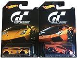 Hot Wheels 2016 HW Exclusive Gran Turismo Lamborghini Gallardo LP 570-4 Superleggera & Lamborghini Aventador LP 700-4 2-Car Bundle Set