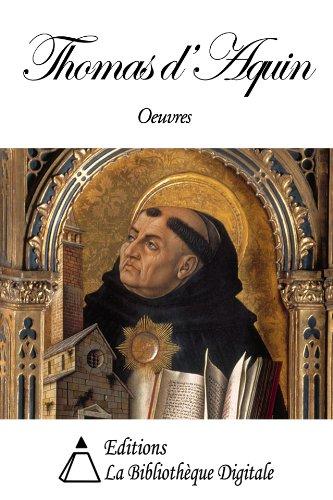 Oeuvres de Thomas d'Aquin
