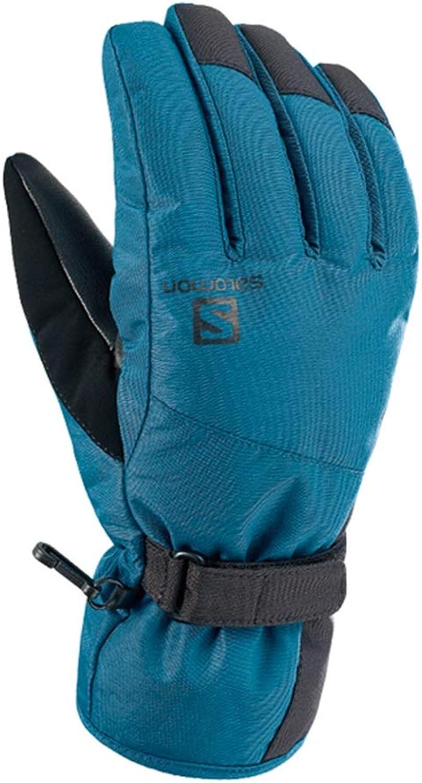HU Herbst und Winter Handschuhe Mnner und Frauen Dicke Wasserdichte warme Outdoor Ski Handschuhe