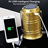 Naivete LED Solar Emergency Light Lantern, High Light Torch, USB Mobile Charger, 3 Power Source Solar, Battery, Lithium Battery, Travel Camping Lantern, Multicolor