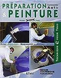Préparation et peinture - Carrosserie auto