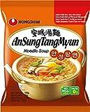 Nong Shim Instantnudeln Ansong Tangmyon – Koreanische Ramen Suppe - schnelle Zubereitung –