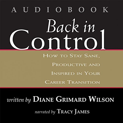 Back in Control audiobook cover art