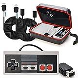 SNES Classic Mini Tasche WADEO NES Controller Usb Nintendo Classic Mini Edition Controller mit SNES...
