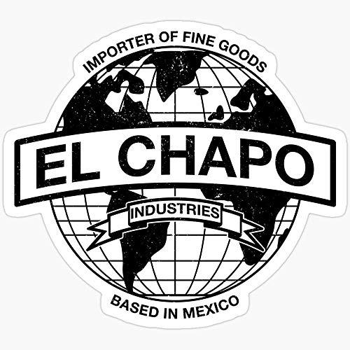 WillettaStore EL Chapo Industries Aufkleber, 3 Stück